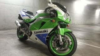 my kawasaki zxr 750 arontje flyby without exhaust sound