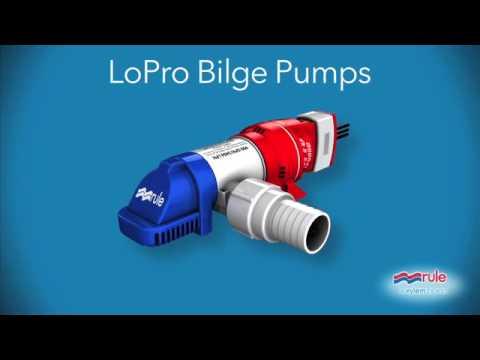 Rule LoPro Bilge Pump