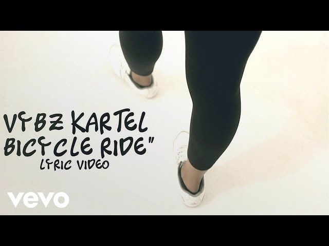 Vybz Kartel - Bicycle Ride (Official Lyric Video)
