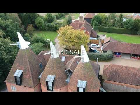 New price for this unique Kentish oast house.