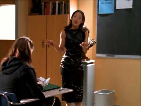 "Sandra Oh on WB's ""Popular"""