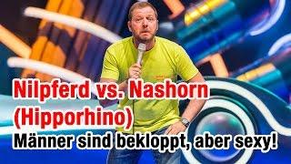 Nilpferd vs. Nashorn (Hipporhino) | Mario Barth - Männer sind bekloppt, aber sexy!