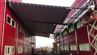 구구천막 철구조물공사