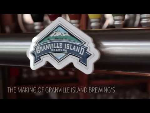 Granville Island Brewing's Georgia Straight PDA: A Kolsh style Golden Ale for Best of Vancouver