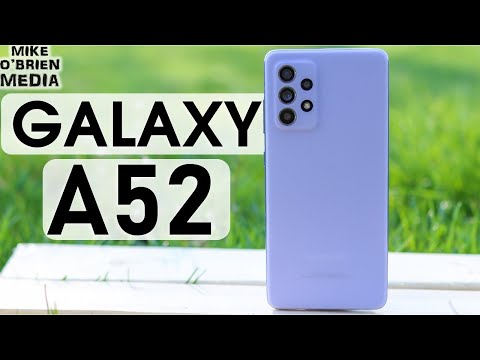 SAMSUNG GALAXY A52 (Full Review!) 2021