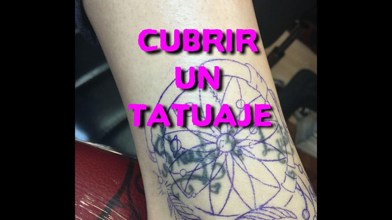 Como Cubrir Un Tatuaje Youtube