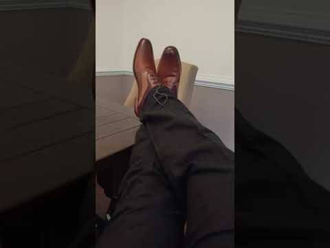 How To Walk In Dress Shoes!