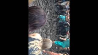 Mosh pit during Black Veil Brides at Warped Tour 2015 at Merriweather Post Pavilion, Columbia, MD