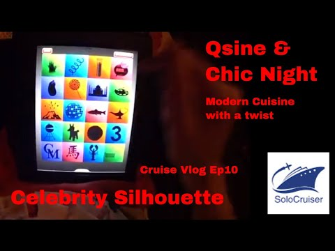 Celebrity Silhouette - Formal Night  and Qsine Vlog  Ep10