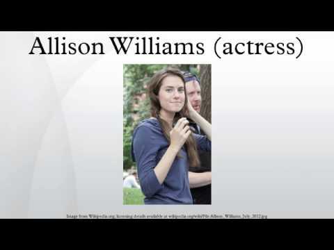 Allison Williams (actress)