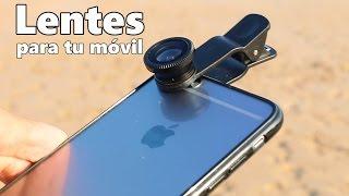 Lentes macro, gran angular y ojo de pez de bajo coste para tu móvil