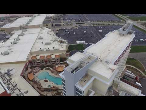 Drone flight WinStar World Casino