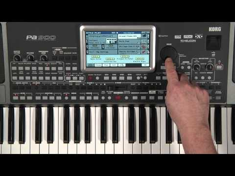 Korg PA900: Introduction