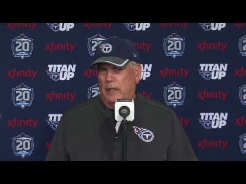 #Titans OTA Press Conference: Defensive Coordinator Dean Pees