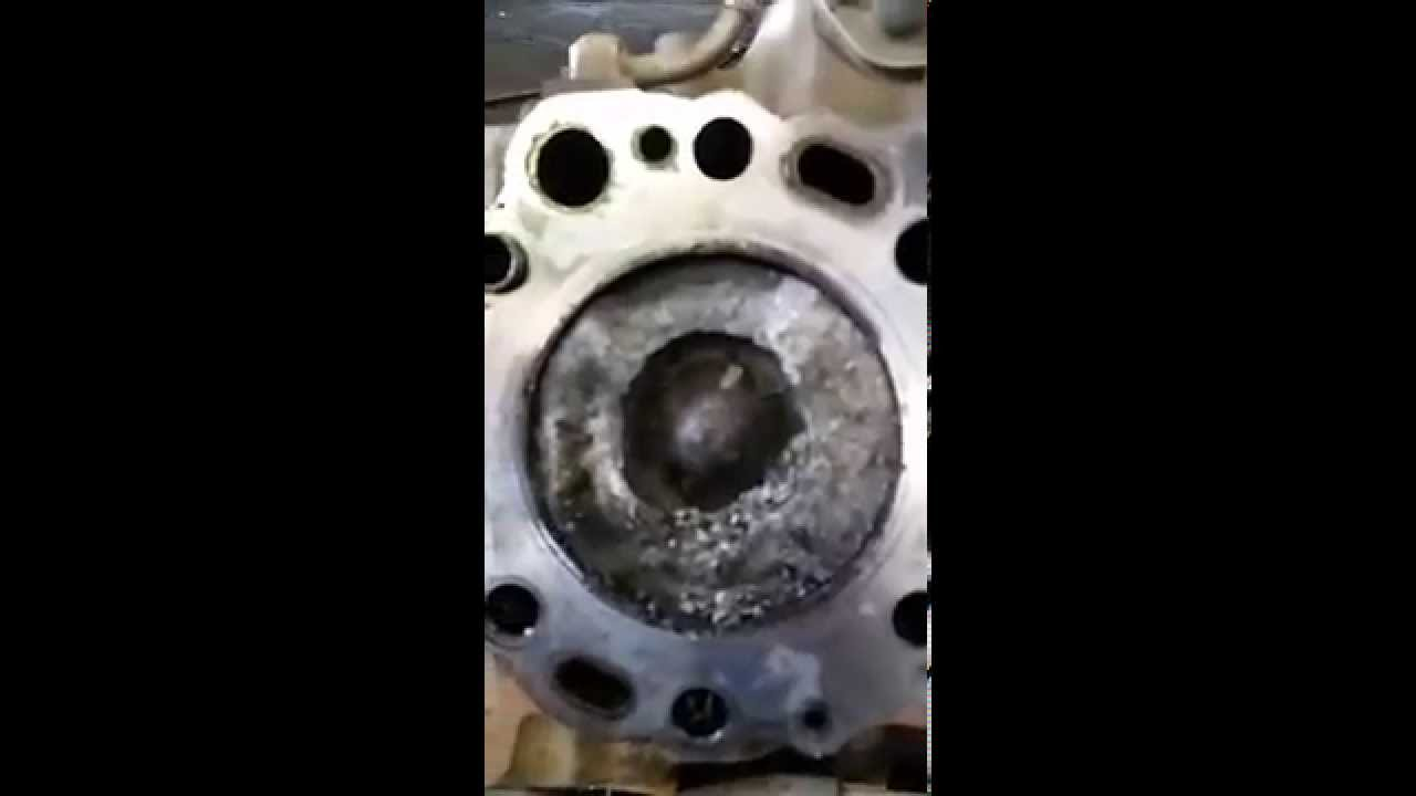 toyota land cruiser prado 1kd engine melted piston