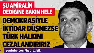 DEMOKRATİK YOLLARLA İKTİDAR DÜŞMEZSE TÜRK HALKINI CEZALANDIRACAKLARMIŞ! #TürkerErtürk
