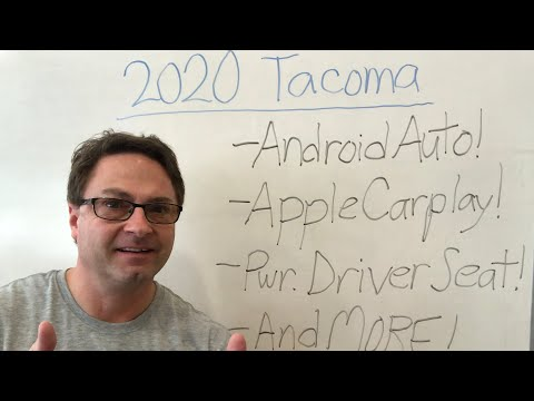 2020 Tacoma BIG Changes! Android Auto! Apple CarPlay! Much More!