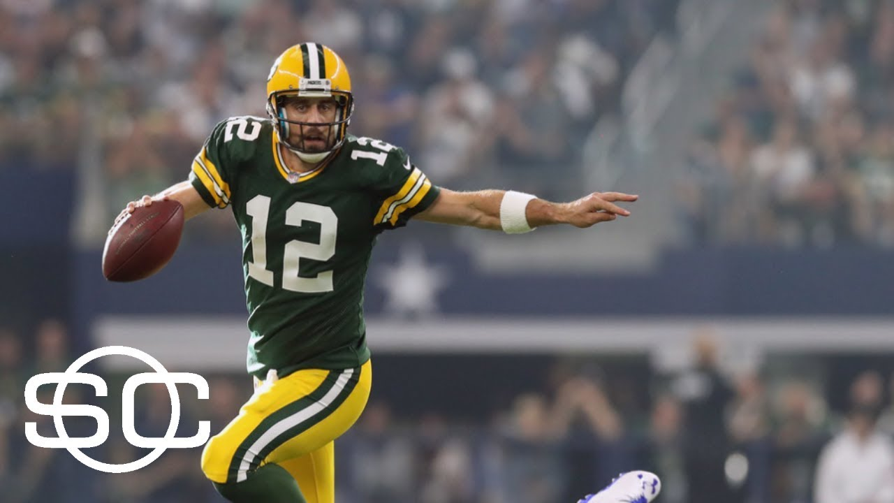 Green Bay Packers Quarterback Aaron Rodgers Enters The Race For MVP