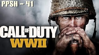 Call Of Duty: WWII | PPSH-41| Pointe du Hoc (GAMEPLAY)