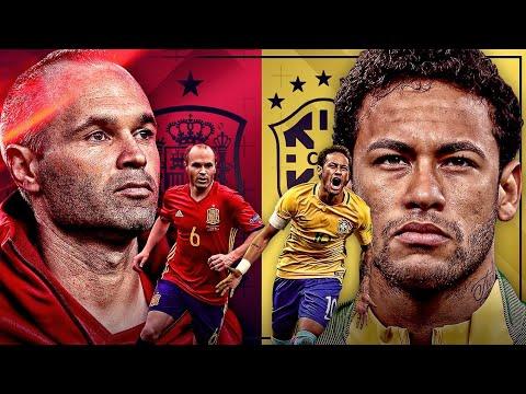 BRASIL vs ESPAÑA | YUL MUNDIAL