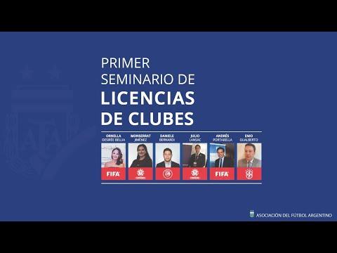 PRIMER SEMINARIO DE LICENCIAS DE CLUBES 2020