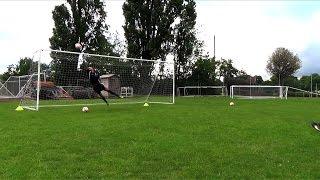 J4K TV Goalkeeper Training with Luke Edgecombe