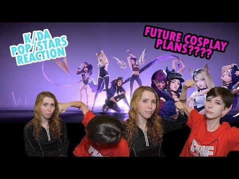 🎮 K/DA - POP/STARS Reaction 🎮 - SISTERS REACT