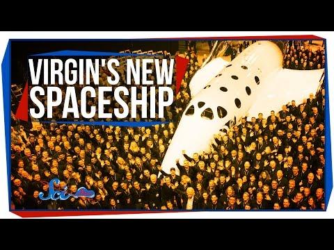 Virgin's New Spaceship