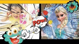 Elsa çocuk takıları,micky mouse sandalet masalın eğlenceli alışverişi