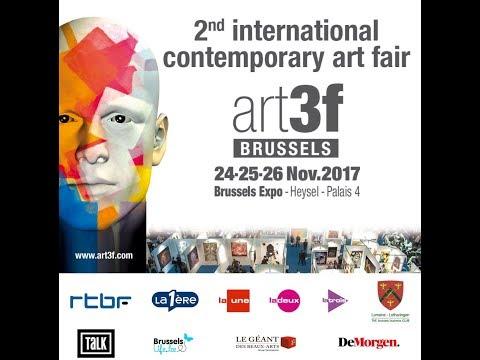 Art3F Bruxelles - Novembre 2017