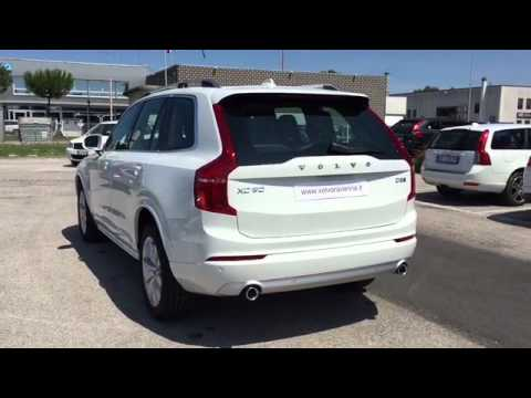 nuova volvo xc90 momentum d5 awd bianco youtube. Black Bedroom Furniture Sets. Home Design Ideas