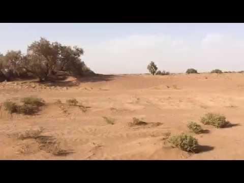 Travelling across the desert - Erg Chigaga Luxury Desert Camp Morocco