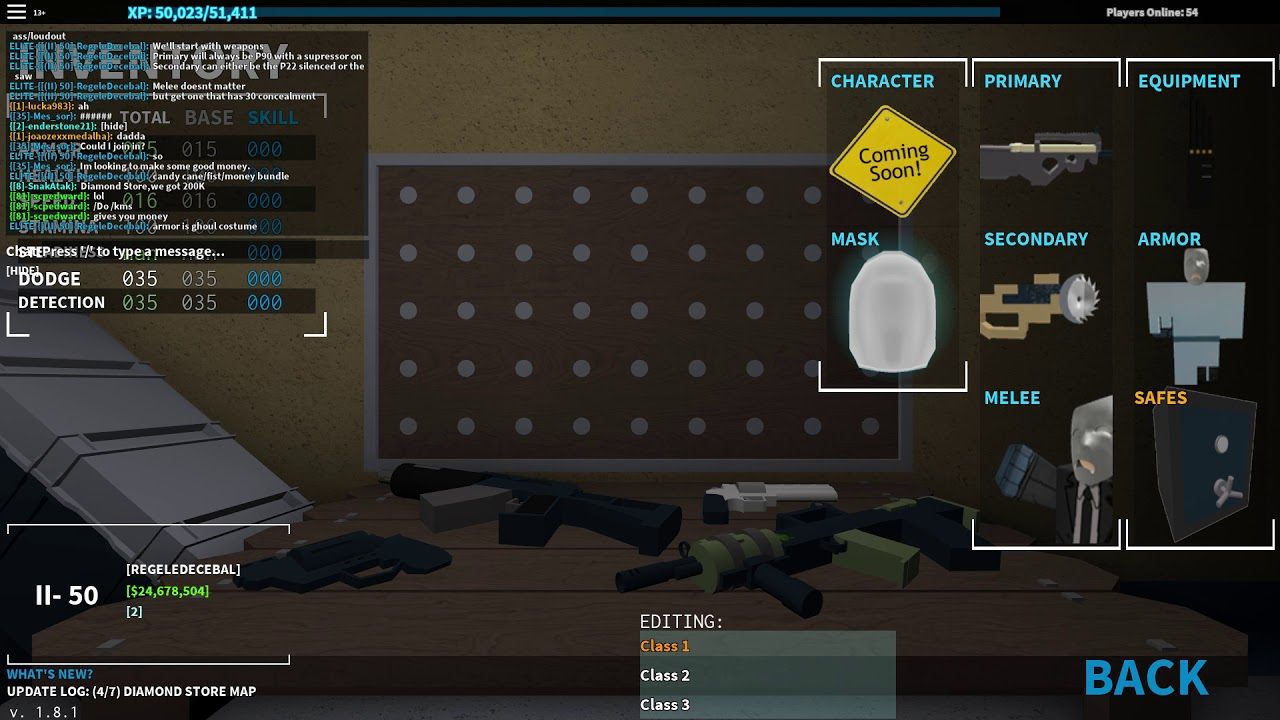 Revamped Roblox Notoriety Stealth Class Loadout Skills Tutorial