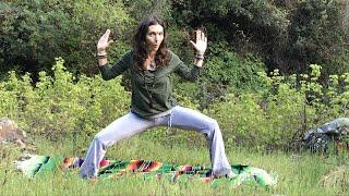 Grounded Warrior Yoga with Durga Dasi