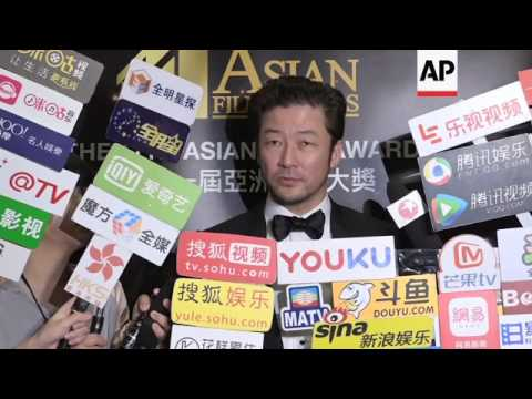 Chinese actress Fan Bingbing and Japanese actor Tadanobu Asano win best acting gongs at Asian Film A