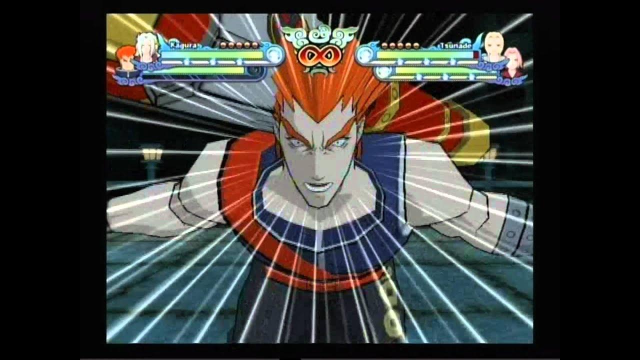 Naruto Shippuden Clash of Ninja Revolution 3 - Kagura ...