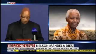 Nelson Mandela Dies At 95 - A Legend Passes Away In Johannesburg 6-12-2013 HD