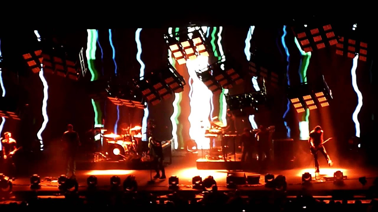 Nine Inch Nails Complete 2013 Concert Raleigh NC PNC Arena - YouTube