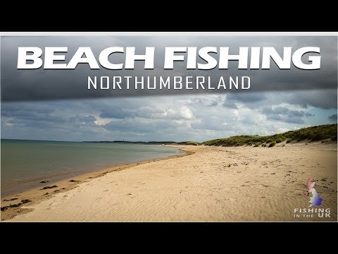Beach Fishing Druridge Bay Northumberland