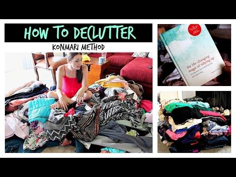 How to Declutter Your Closet | KonMari Method