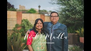25th Anniversary Highlights Video - Neil & Madhu