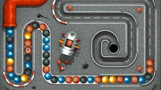 "Atomic Rally, jeu de type ""Zuma"""