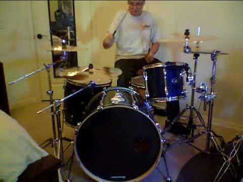 Tama RockStar Custom sound test Front