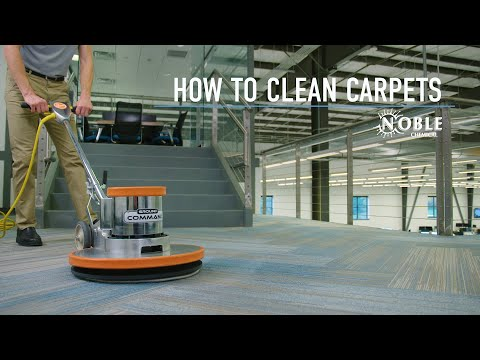 How To Clean Carpets: Noble Chemical Sierra Carpet Cleaner