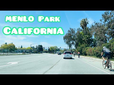 CRUISING AROUND MENLO PARK CALIFORNIA