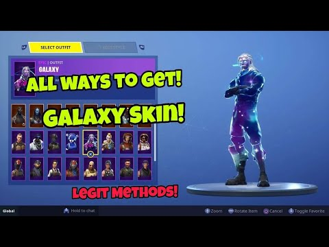 How To Get Galaxy Skin For Free (All Methods) Fortnite ...