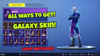 How To Get Galaxy Skin For Free (All Methods) Fortnite Free Skins Method PS4/Xbox one 2018