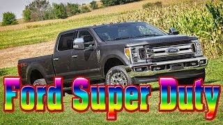 2018 Ford Super Duty- 2018 Ford Super Duty Release Date-2018 Ford Super Duty Changes-New Cars Buy