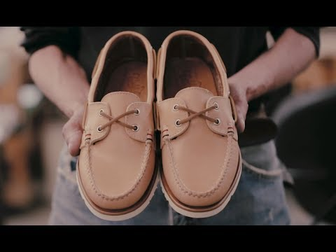 Sperry Gold Cup Handcrafted In Maine Collection