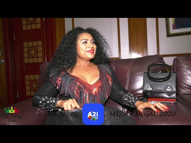 Making of MISS SENEGAL 2020